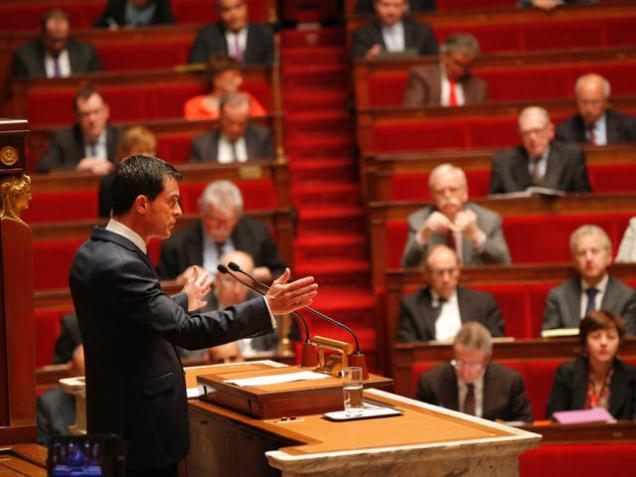 มานูเอล วาลส์ นายกรัฐมนตรีฝรั่งเศส