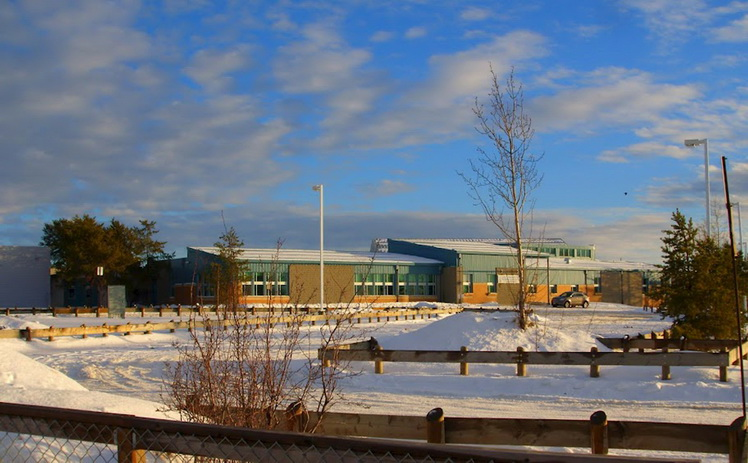 The Dene high school campus of the La Loche Community School is seen in an undated photo. Five people were killed and two critically injured in a school shooting in a remote part of Saskatchewan on January 22, 2016 and a suspect is in custody, Canadian Prime Minister Justin Trudeau said. REUTERS/Raymond Dauvin/Handout via Reuters ATTENTION EDITORS - THIS PICTURE WAS PROVIDED BY A THIRD PARTY. REUTERS IS UNABLE TO INDEPENDENTLY VERIFY THE AUTHENTICITY, CONTENT, LOCATION OR DATE OF THIS IMAGE. EDITORIAL USE ONLY. NOT FOR SALE FOR MARKETING OR ADVERTISING CAMPAIGNS. NO RESALES. NO ARCHIVE. THIS PICTURE IS DISTRIBUTED EXACTLY AS RECEIVED BY REUTERS, AS A SERVICE TO CLIENTS TPX IMAGES OF THE DAY